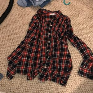 checkered flannel from old navy